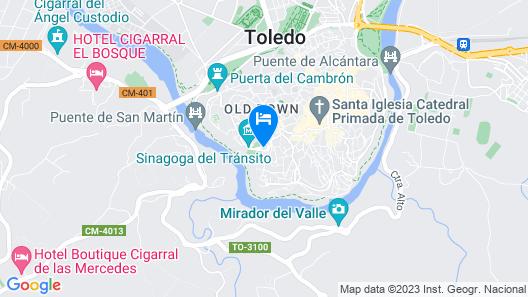 Hotel Sercotel Pintor El Greco Map
