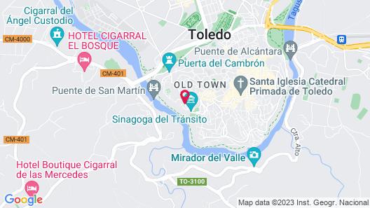 Hotel San Juan de los Reyes Map