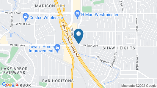 DoubleTree by Hilton Denver - Westminster Map
