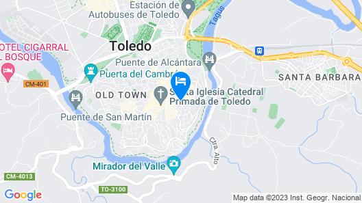 Hotel Sercotel Alfonso VI Map