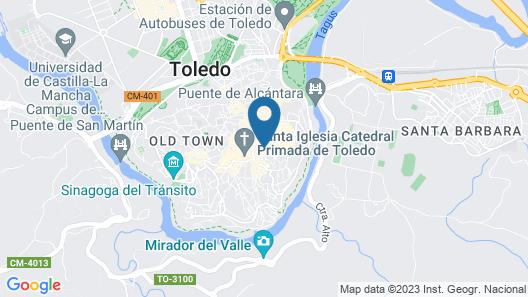 YIT Conquista de Toledo Map