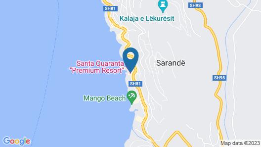 Santa Quaranta Premium Resort Map