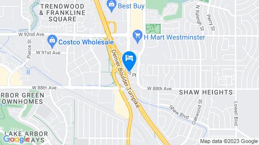 Residence Inn by Marriott Denver North-Westminster Map