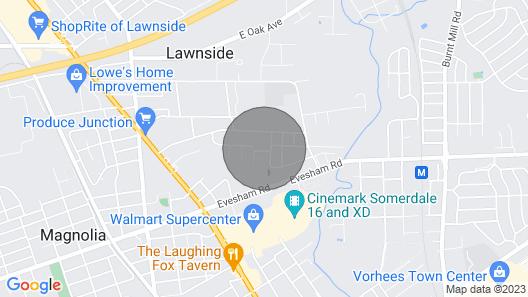 Comfortable Suburban Living Map