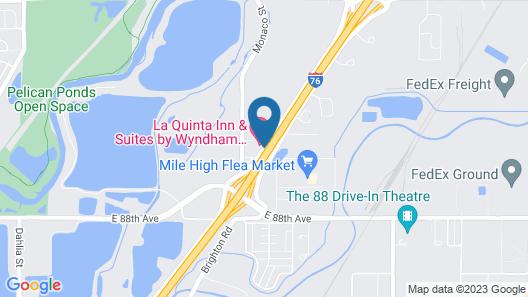 La Quinta Inn & Suites by Wyndham Henderson-Northeast Denver Map