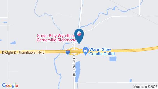 Super 8 by Wyndham Centerville-Richmond Map