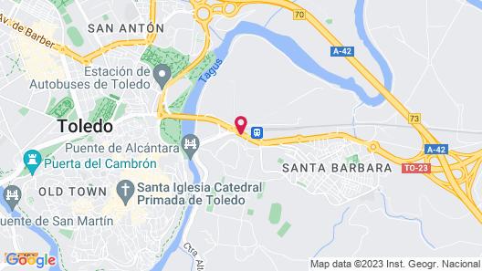 Hotel Princesa Galiana Map