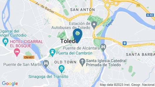 YIT Puerta Bisagra Map