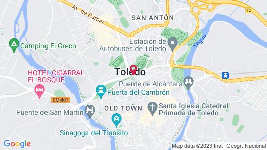 Hacienda Del Cardenal Map