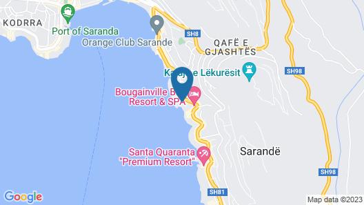 Hotel Nertili Map