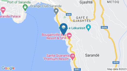 Barracuda Apartments  Map