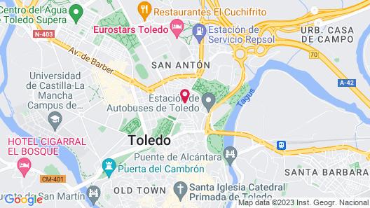 María Cristina Hotel Map