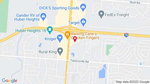 Holiday Inn Express Hotel Dayton-Huber Heights, an IHG Hotel Map