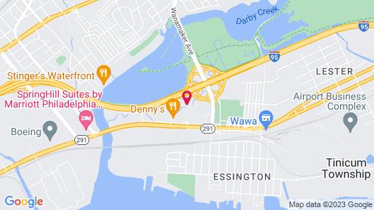 Travelodge by Wyndham Essington / Philadelphia Airport Map
