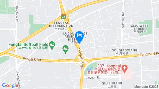 Nuan Xin Ge Hotel Map