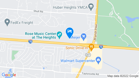 Tru by Hilton Huber Heights Map