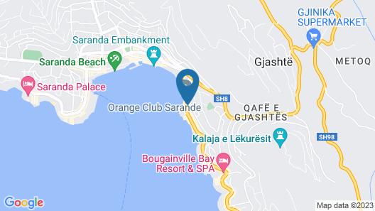 Hotel Agimi Map