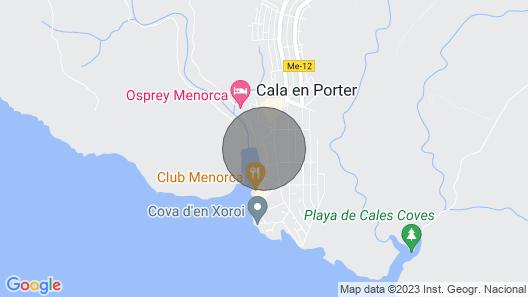 Seafront Villa Bellavista With Private Pool Map