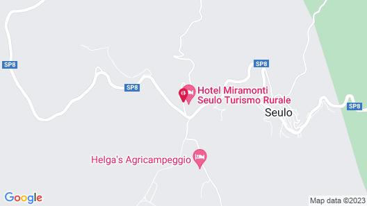 Hotel Miramonti, Turismo Rurale Map