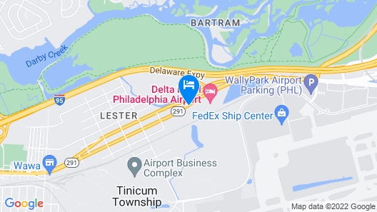 Delta Hotel Philadelphia Airport Map