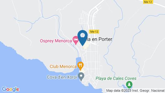 Hotel Playa Azul Map