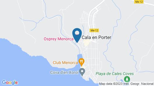 Blue Hotel Paradis Blau Map