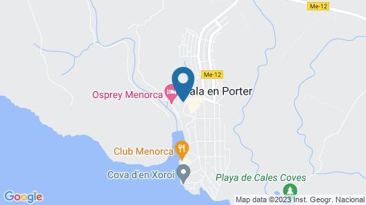 Hotel Sa Barrera Map