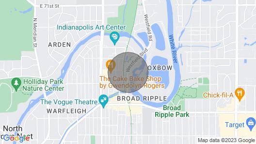 Hotel Broad Ripple LLC Map