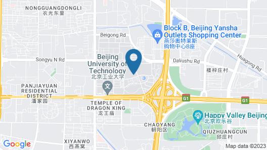 City Inn Beijing Happy Valley Map