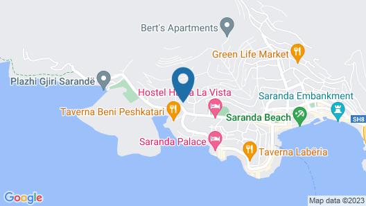 Relax Apts Saranda Map