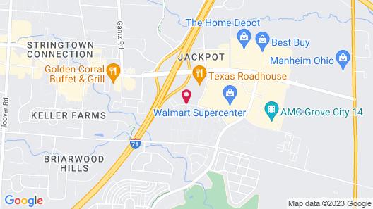 Fairfield Inn & Suites by Marriott Columbus Grove City Map