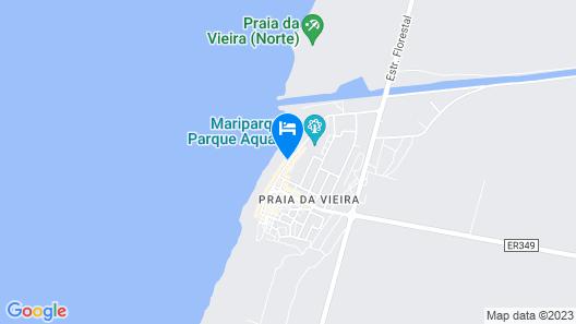 Hotel Cristal Vieira Praia & SPA Map