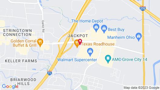 Drury Inn & Suites Columbus Grove City Map