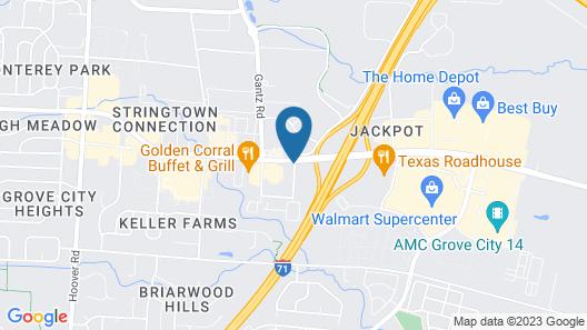 Comfort Inn Grove City Map