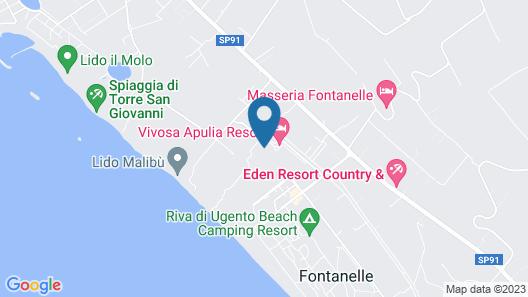 Vivosa Apulia Resort - All Inclusive Map