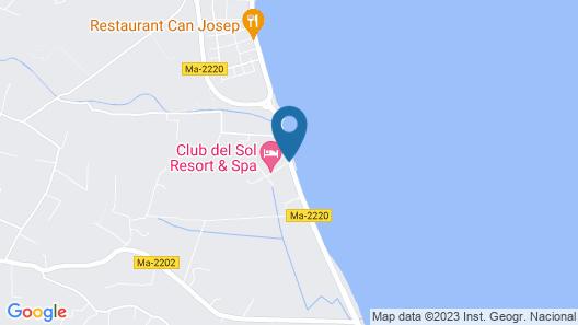 Aparthotel Club del Sol Resort & SPA Map