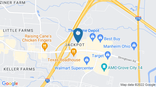 Candlewood Suites Columbus - Grove City, an IHG Hotel Map
