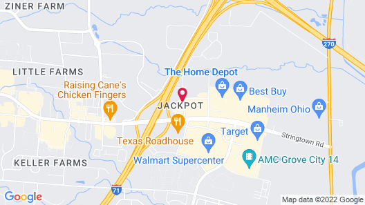 Red Roof Inn Columbus - Grove City Map