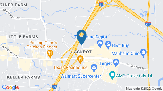 Holiday Inn Express Hotel & Suites Columbus SW-Grove City, an IHG Hotel Map