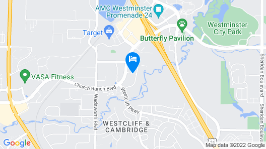 Quality Inn & Suites Westminster - Broomfield Map