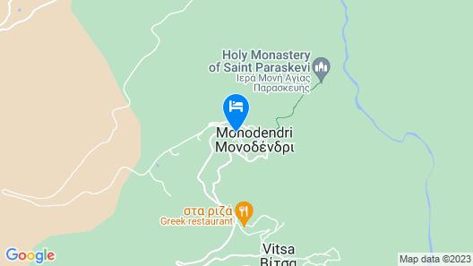 Zarkada Archontiko Hotel Map