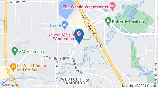 Denver Marriott Westminster Map