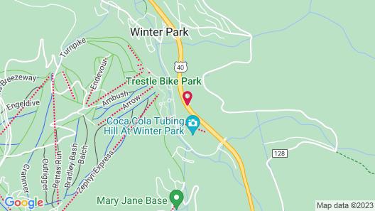 Winter Park Mountain Lodge Map