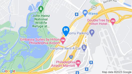 Sonesta Select Philadelphia Airport Map