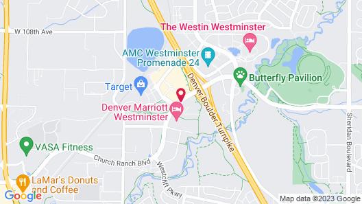 Drury Inn & Suites Denver Westminster Map