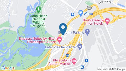 Extended Stay America Philadelphia-Airport- Bartram Ave. Map