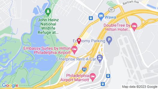 Extended Stay America Suites Philadelphia Airport Bartram Av Map
