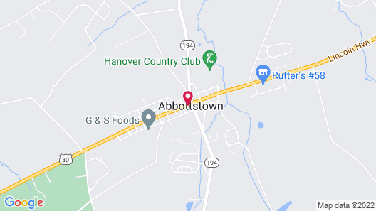 Altland House Inn and Suites Map