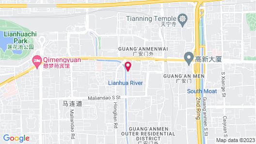 DoubleTree by Hilton Beijing Map