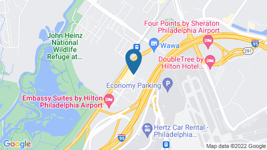 Microtel Inn & Suites by Wyndham Philadelphia Airport Map